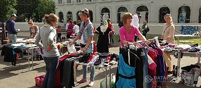 В Нарве вновь состоится блошиный рынок