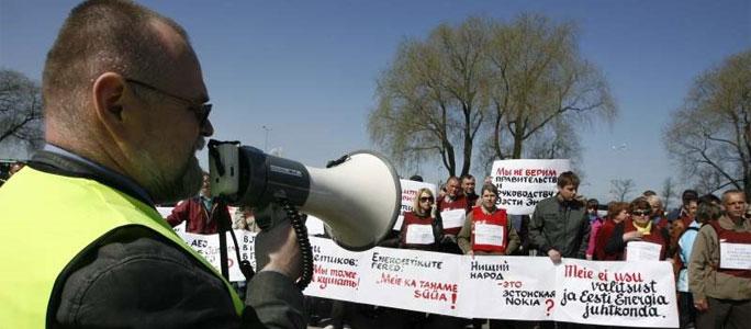 Профсоюзы Эстонии призывает власти сотрудничать по коллективному договору