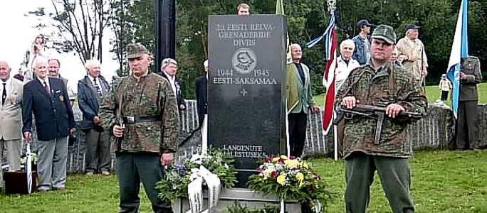 Ветераны 20 Эстонской гренадерской дивизии проведут в субботу свой слет