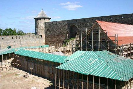 Известь для Ивангородской крепости готовили по французским рецептам