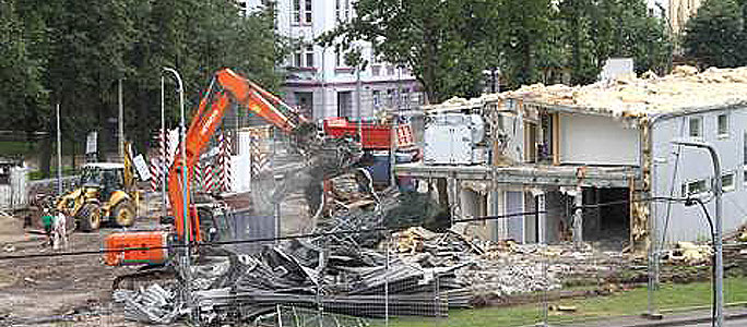 Во время реконструкции нарвского погранпункта обнаружены человеческие останки