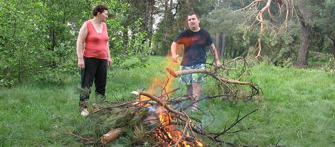 В лесах Ида-Вирумаа объявят период повышенной пожароопасности