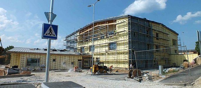 Время до сдачи новой школы в Синимяэ считают уже в часах