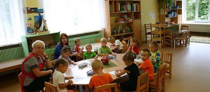Детский сад «Kuldkalake» объявляет: мы работаем!