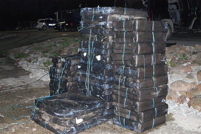 Пограничники перехватили контрабанду сигарет