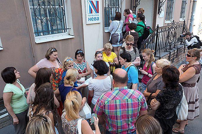 Поток российских туристов в Ида-Вирумаа оскудел