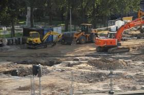 В Нарве при строительстве КПП обнаружено средневековое кладбище