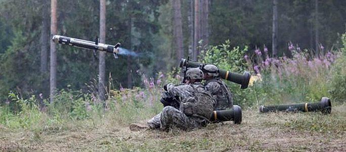 Силы обороны будут совершать из Javelin несколько выстрелов в год