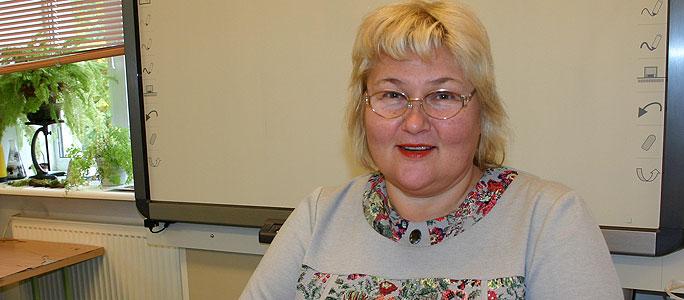 Учитель года 2014 в Нарве – Татьяна Седова