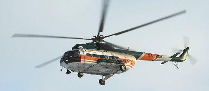 Женщина родила на борту эстонского спасательного вертолета