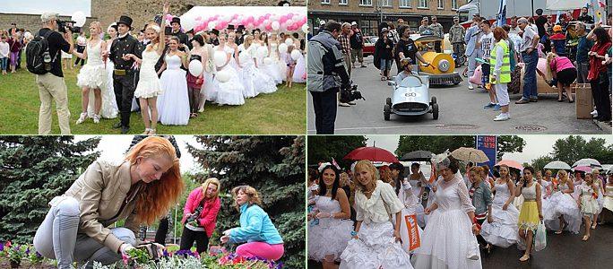 Сбежавшие невесты и День Города Нарва