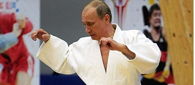 Путин получил очередной дан по каратэ