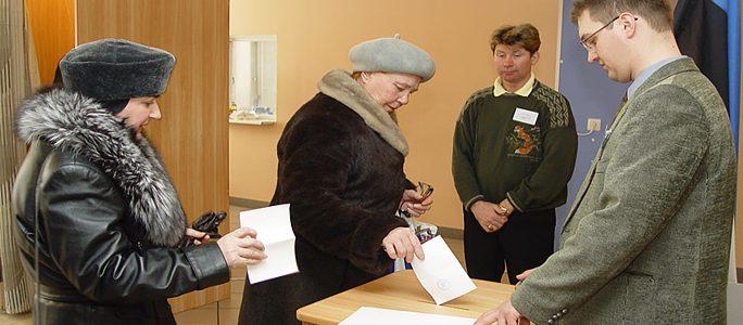 Избирательных участков в Нарве станет меньше на треть