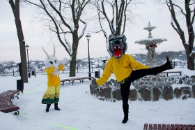 +Галерея. +Видео. Малый Темный сад в Нарве вновь открыт