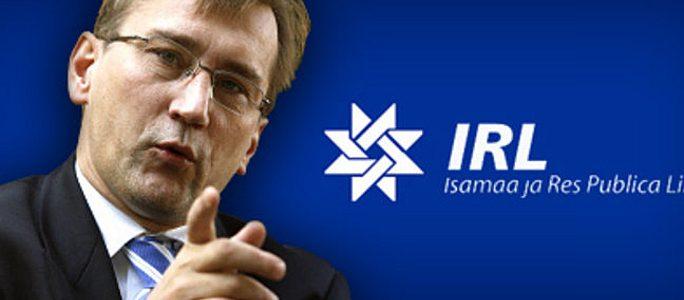 Выборы в Рийгикогу: IRL обещает