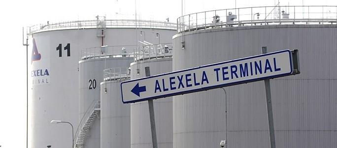 Воздух в Силламяэ загрязняют терминал и завод сланцевого масла