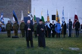 +Видео. Празднование 97-й годовщины ЭР началось подъемом флага в Нарве