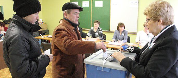 В Нарве реформисты были далеки от 5-процентного барьера