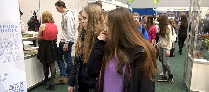 Видео: В Нарве прошла традиционная инфоярмарка «Ориентир-2015»