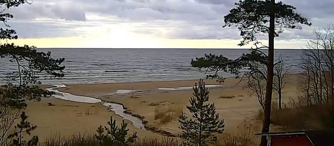 В Нарва-Йыэсуу установили камеру для наблюдения за погодой на пляже