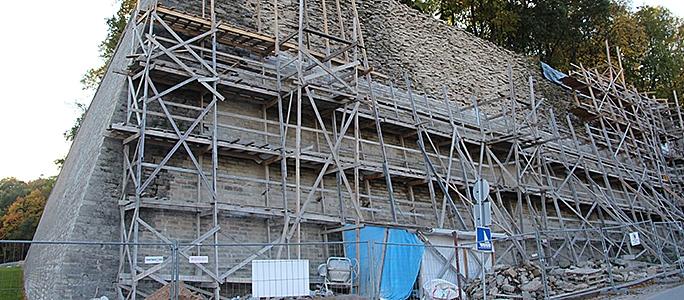 Задержка работ на бастионе Виктория может обойтись подрядчику в миллион евро