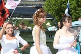 Галерея. Невесты и байкеры. Сбор у Сенди