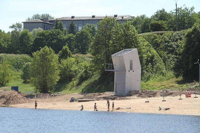 Все пляжи в Нарве - без спасателей