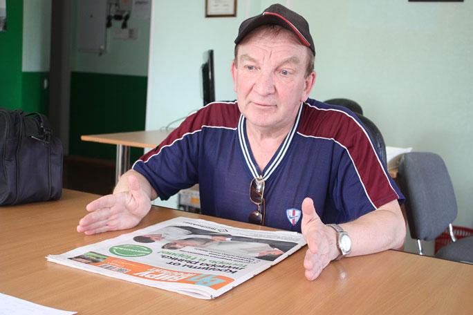 В гости к читателям: Владимир Кузнецов