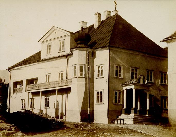 Царский дом с видом на Нарову
