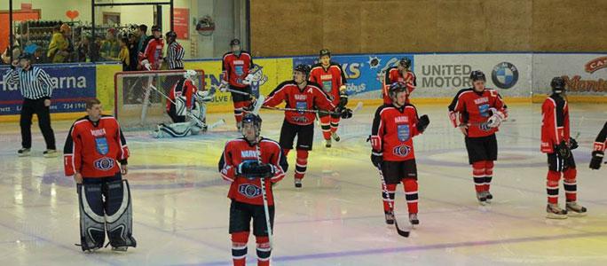 В Нарве отмечают 75-летие хоккея