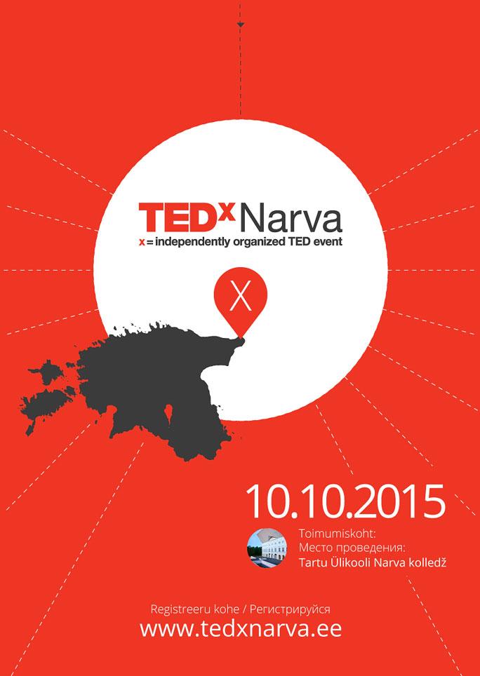 TEDxNarva соберет выдающихся деятелей в области технологии
