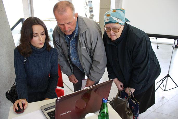 Украинские девушки решили свои задачи, изучив eesti keel