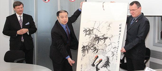 Район китайского мегаполиса намерен сотрудничать с Нарвой