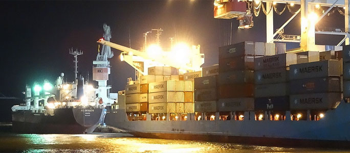 Силламяэский порт увеличил грузооборот