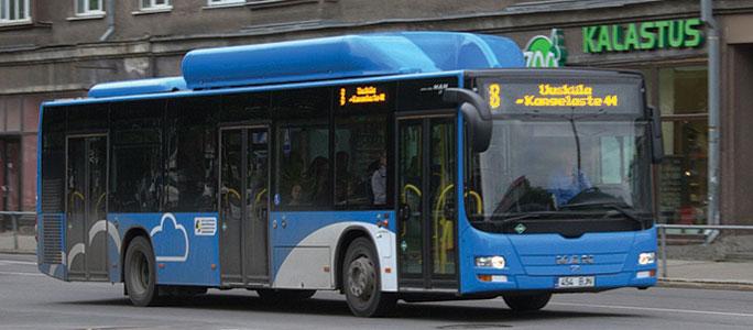 Narva Bussiveod AS объявило о банкротстве