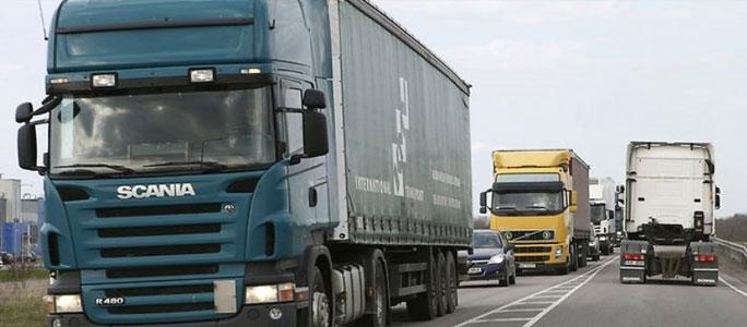 С тяжелых грузовиков собираются брать плату
