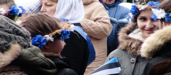 Видео. 24 февраля в Нарве было весело!