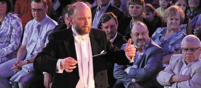 Заключительный концерт фестиваля Мравинского в Нарвском замке