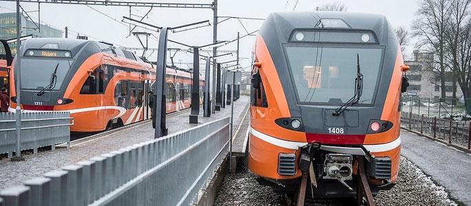 В праздничные дни расписание поездов Elron изменится