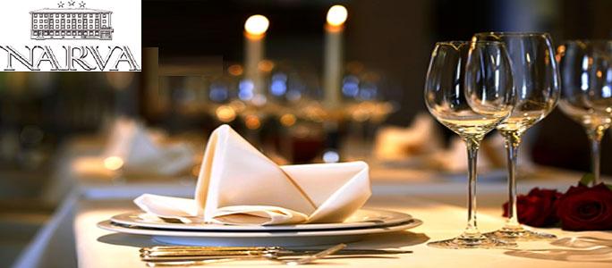 """Ресторан гостиницы """"Нарва"""" снова наш партнер"""