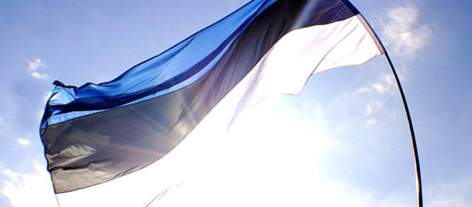 9 мая в Эстонии  вывешены флаги в честь Дня Европы