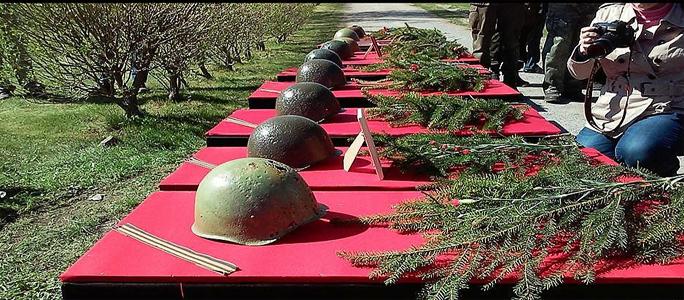 В Эстонии перезахоронили останки 126 советских солдат