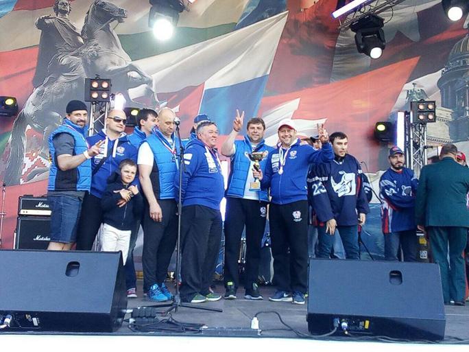 Хоккеисты Narva Stars – серебряные призеры чемпионата Мира среди болельщиков