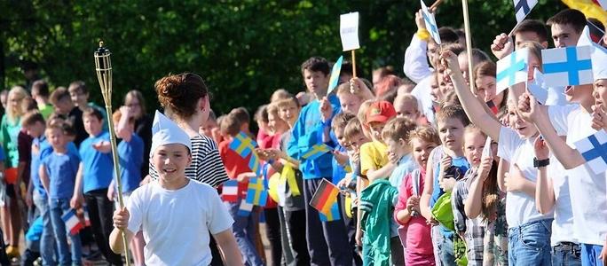 В Нарве начался трехдневный олимпийский праздник