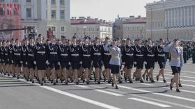 Галерея. Парад Победы в Санкт-Петербурге