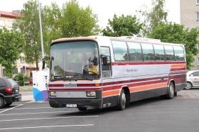 По маршруту проехали те же автобусы, что полвека назад