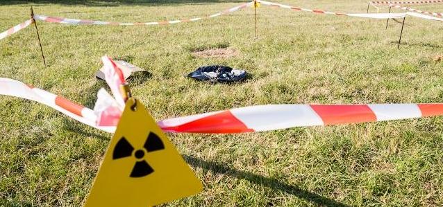 В волости Саку обнаружен контейнер с ураном
