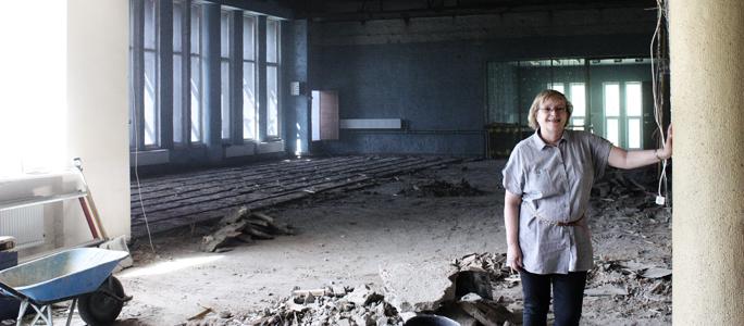 Ремонт в ДК «Ругодив»: работы  по демонтажу закончены