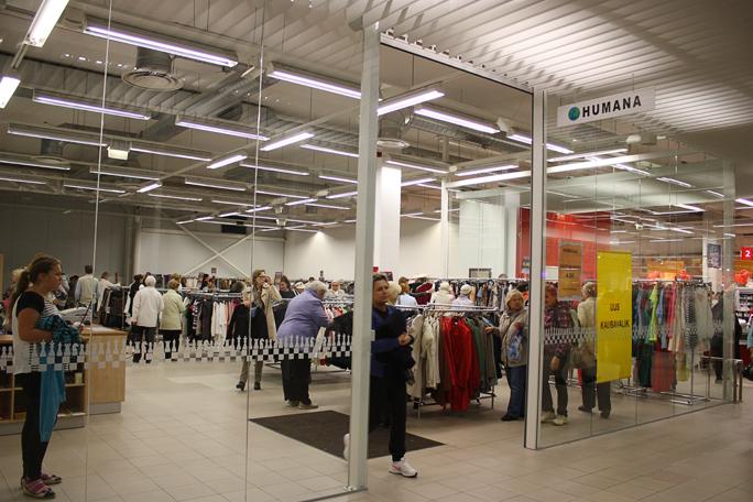 С 1 октября многие магазины Humana прекращают прием товаров от клиентов