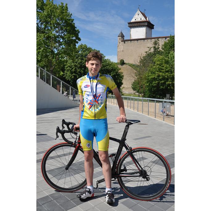 Йорген Вимберг стал чемпионом по велотреку